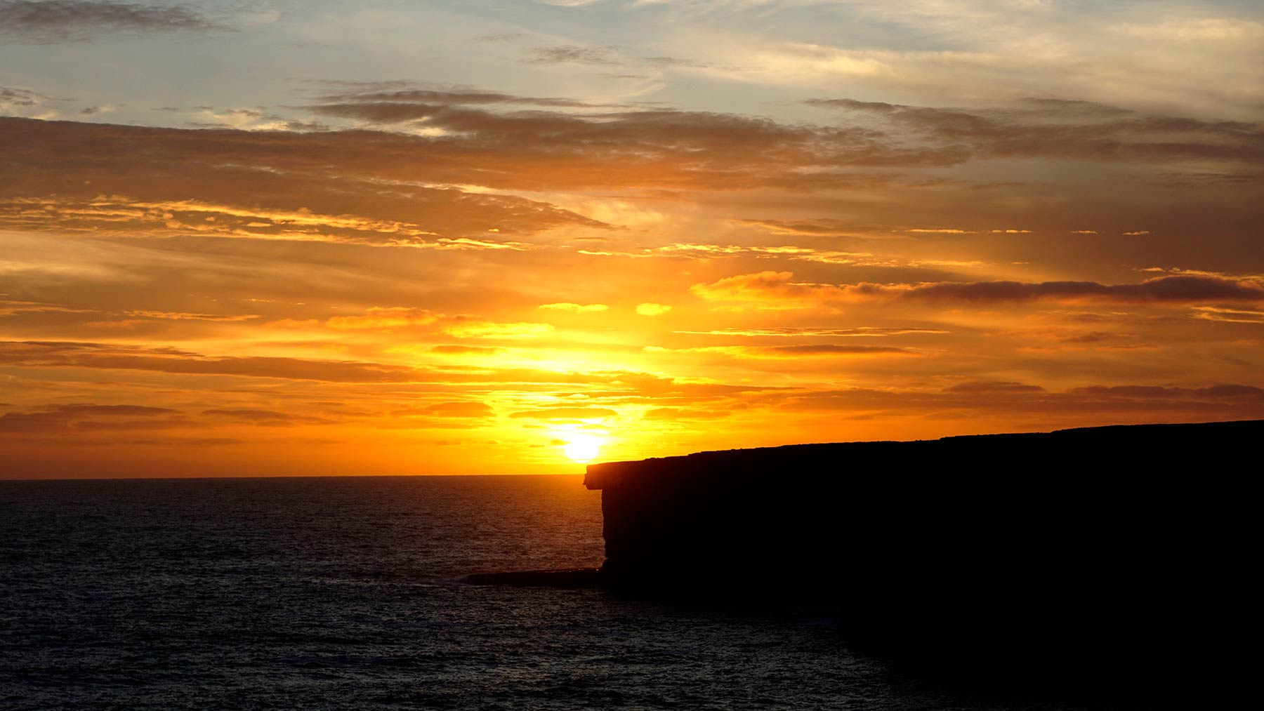 sunset aran islands