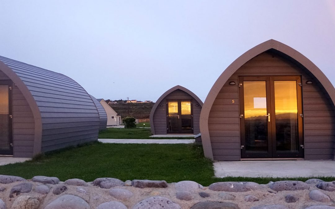 Family Glamping in Ireland along the Wild Atlantic Way